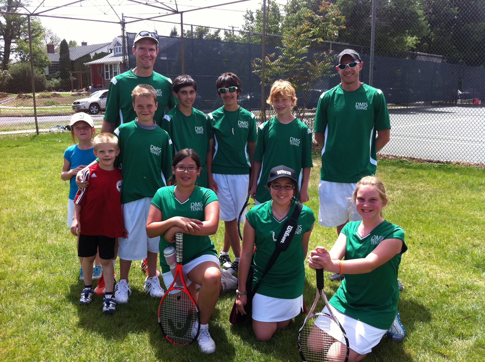 Middle school tennis, anyone?