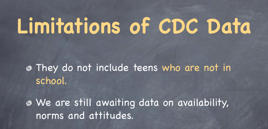 Jumping to conclusions with CDC data
