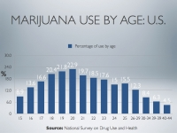 Marijuana use rates